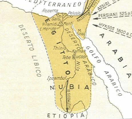 Cartina Egitto In Italiano.Egitto Antico Ed Egiziani Eta Della Storia Storia Per Prima Media