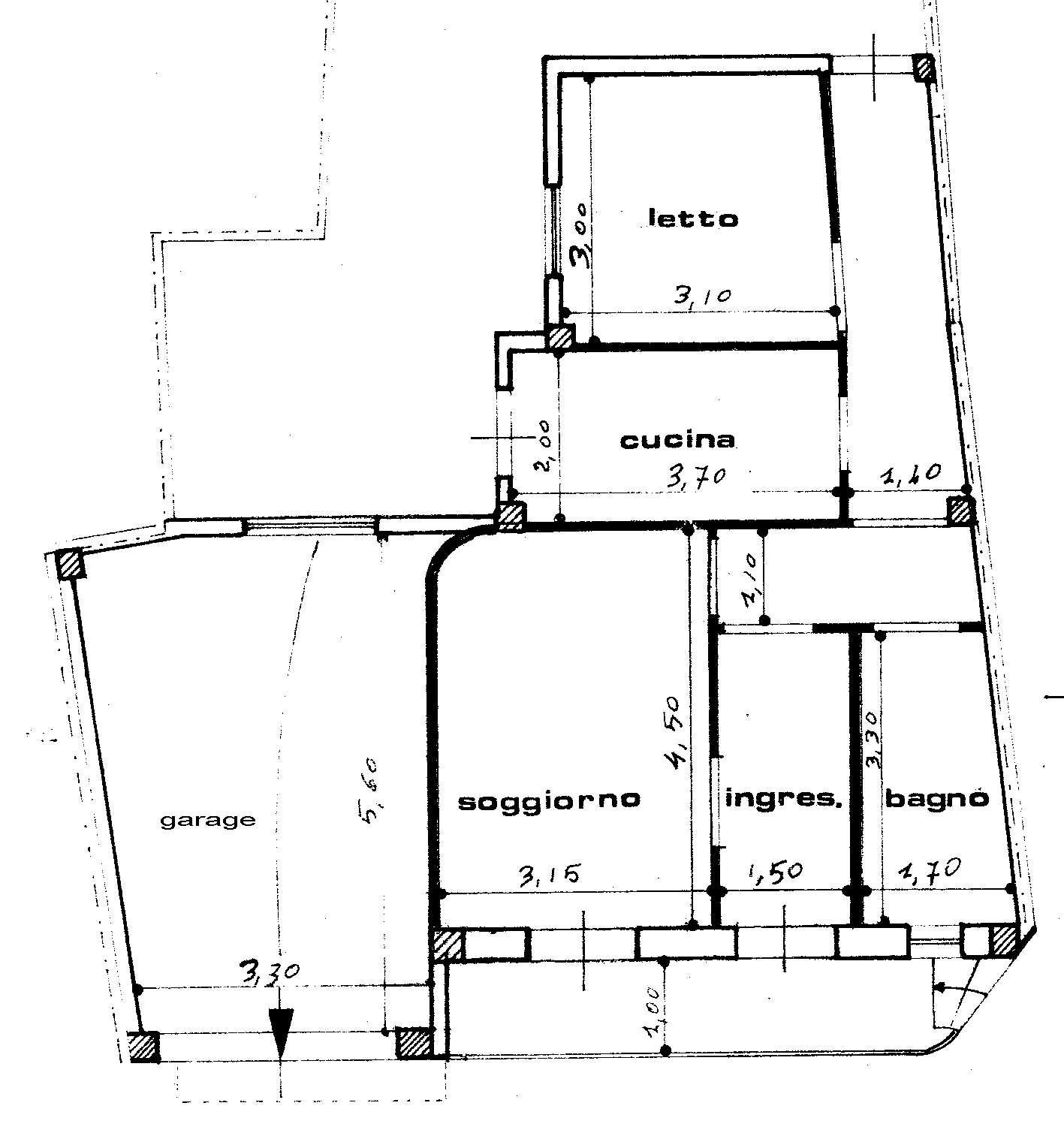 La casa scuola media for Mappa della costruzione di casa